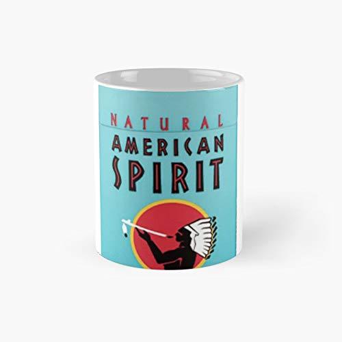 American Spirit Pack Classic Mug Best Gift Funny Coffee Mugs 11 Oz