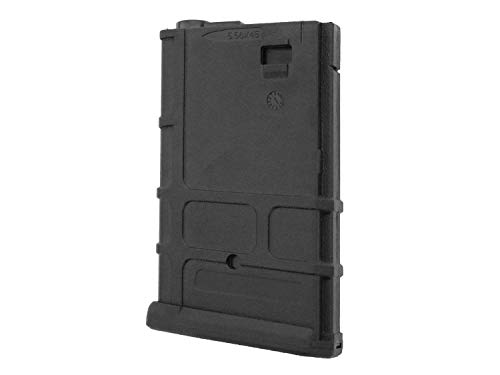 Battleaxe Airsoft/Softair M4 PMAG Short MidCap Magazin (110 BBS) -schwarz-