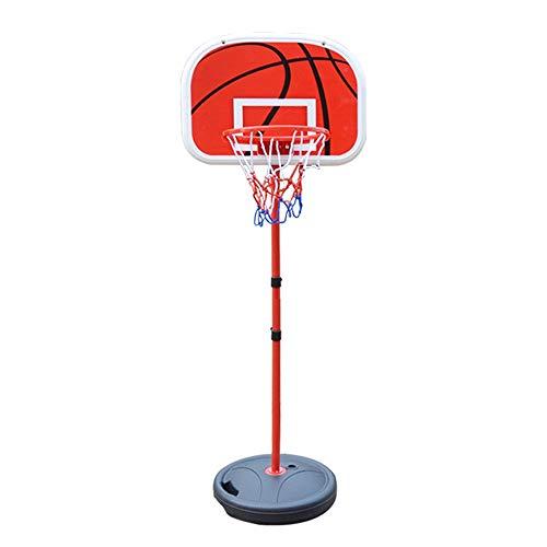 Aro De Baloncesto para Niños Juguete portátil Marco de la Cesta de Carga extraíble Soporte Pequeño Baloncesto de niños al Aire Libre Ideal para Niños Y Niñas (Color : Black, Size : One Size)