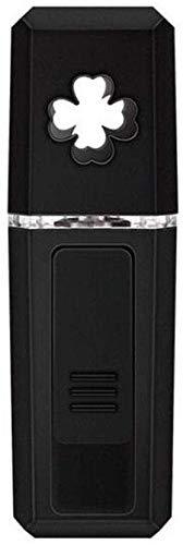 WGZL Nano Facial Steamer Char Recharge USB Pratique Nano pulverisateur Visage humidificateur Froid Spray Compteur d'eau,Black