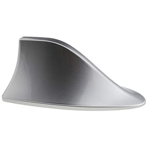 YSDHE 1pc Klavier-wie Gemälde Autoradio-Haifisch-Flosse-Antenne for Hyundai ix35 Auto Aerials Antennen-Signal-Schwarz Weiß Silber Grau (Color : Silver)