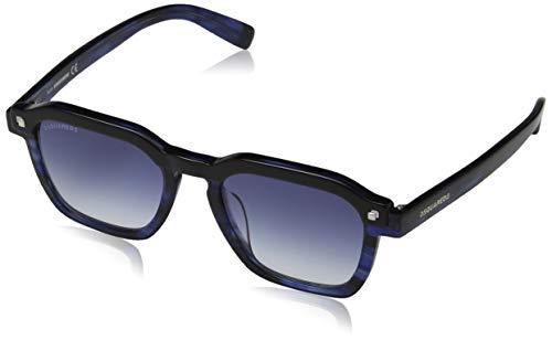 DSQUARED2 CLAY Occhiali da sole, Other/Gradient Blue, 50 Uomo