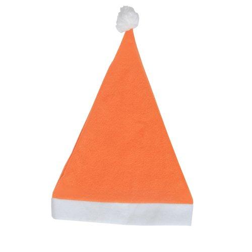DISOK Lote de 50 Gorros de Papa Noel Naranjas - Gorros de...