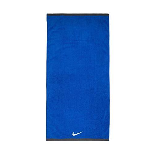 Nike Unisex– Erwachsene FUNDAMENTAL Towel Handtuch, Varsity Royal/White, 60x120cm