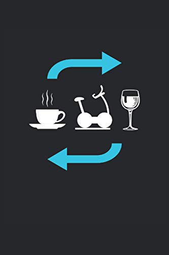 Coffee Training Wine Repeat: Cuaderno forrado Cuaderno diario Cuaderno de tareas ToDo Cuaderno de cuentos Libro de cuentos (15, 24 x 22, 86 cm; aprox. ... los amantes del café, el vino y el fitness.