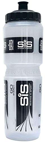 Science in Sport SIS Wide Neck Clear Brand Bottle ClearBlack 1L