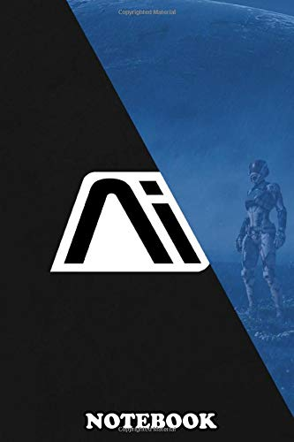 Notebook: Andromeda Initiative , Journal for Writing, College Ruled Size 6