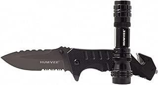 Best humvee knife flashlight combo Reviews