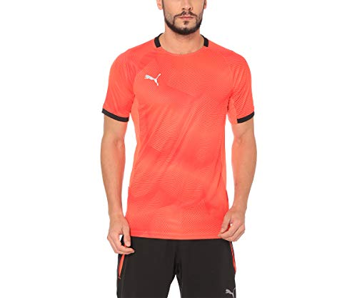PUMA Herren ftblNXT Graphic Shirt T, Red Blast Black, S