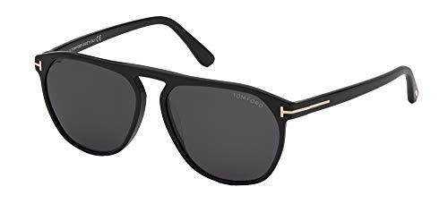 Tom Ford Gafas de Sol JASPER -02 FT 0835 Shiny Black/Grey 58/15/145 hombre