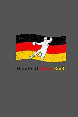 Handball Notiz Buch: A5 Handball Kalender   Deutschland Handball Wochenplaner   Handballspieler & Handballspielerinnen Geschenk