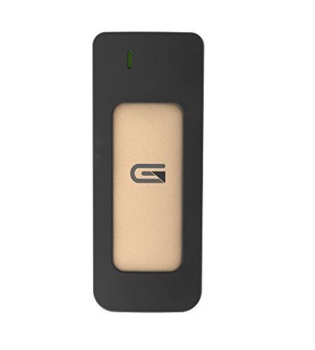 Glyph Atom SSD 250GB Gold (External USB-C, USB 3.0, Thunderbolt 3) A250GLD