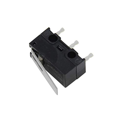 2x D2F-01L Microswitch with lever SPDT 0.1A/30VDC ON-ON 1-position OMRON