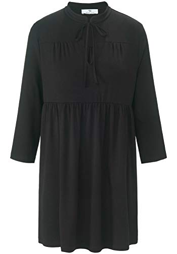 Peter Hahn 3/4-Arm-Shirt Tunika-Shirt mit 3/4-Arm und kleinem Stehkragen Damen