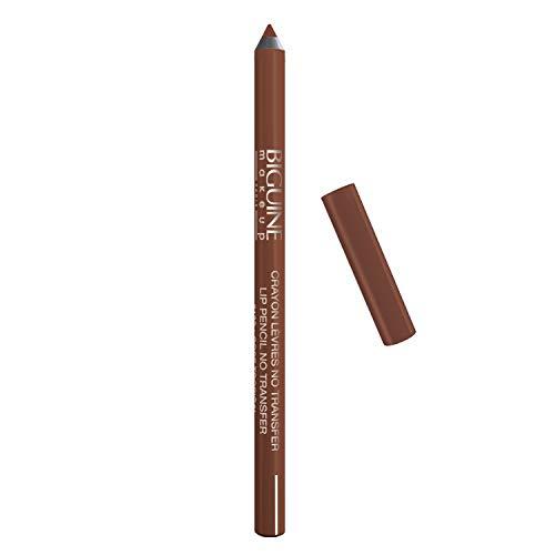 BIGUINE MAKEUP PARIS - Crayon à Lèvres No Transfer - Waterproof - Lip Liner - Redessine les Lèvres - Précision Ultime, Couleur sur Mesure - Beige Peau - 1,26 g - BEIGE PEAU