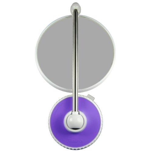 TWISTMIRROR Miroir Intelligent grossissant 10x Couleur: Violet