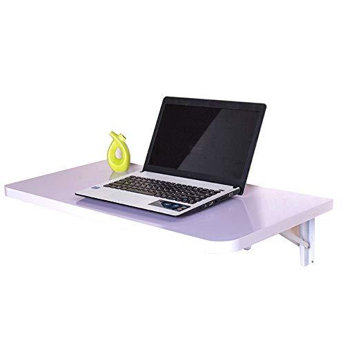 Clapboard Rack Küchentisch Klapp Computertisch Laubtisch Wand Tisch Kinder Tisch Wandbehang (Farbe : Weiß, größe : 60 * 35cm)