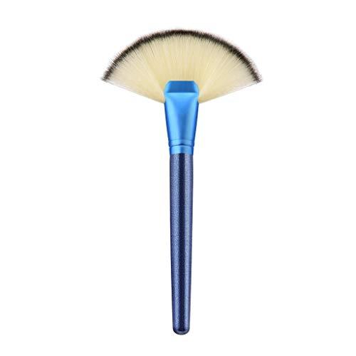 MEIYY Pinceau de maquillage High Quality Fashion 1Pc Fan Brush Portable Slim Professional Premiuim Makeup Brush Set Tools Wholesale Retail