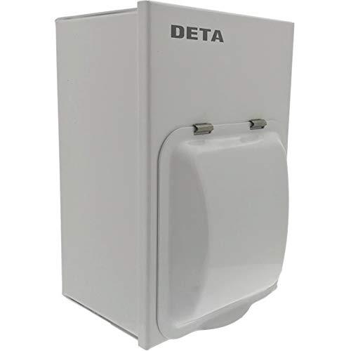 Deta B1081 Garage Consumer Unit 2 Way with 63A RCD + 1 x 32A + 1 x 6A MCB