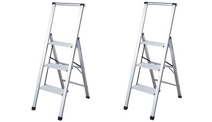 Core Studio SL3HLight Slimline 3 Step Ladder (2-(Pack))