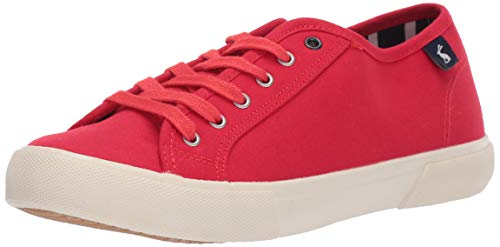 Joules Coast Pump, Zapatillas Mujer, Rojo (Red Red), 42 EU