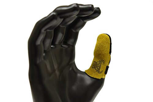 G & F 8126M Cowhide Leather Thumb Guard, Thumb Protection, Medium, Finger Guard Sold Separately