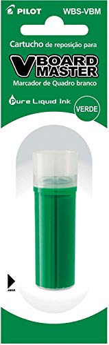 Pilot 948779 - Cartucho de tinta para rotulador Vboard, color verde