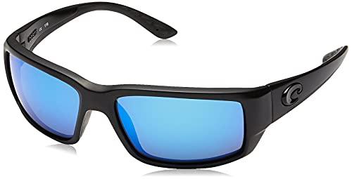 Costa Del Mar Men's Fantail 580G Polarized Rectangular Sunglasses