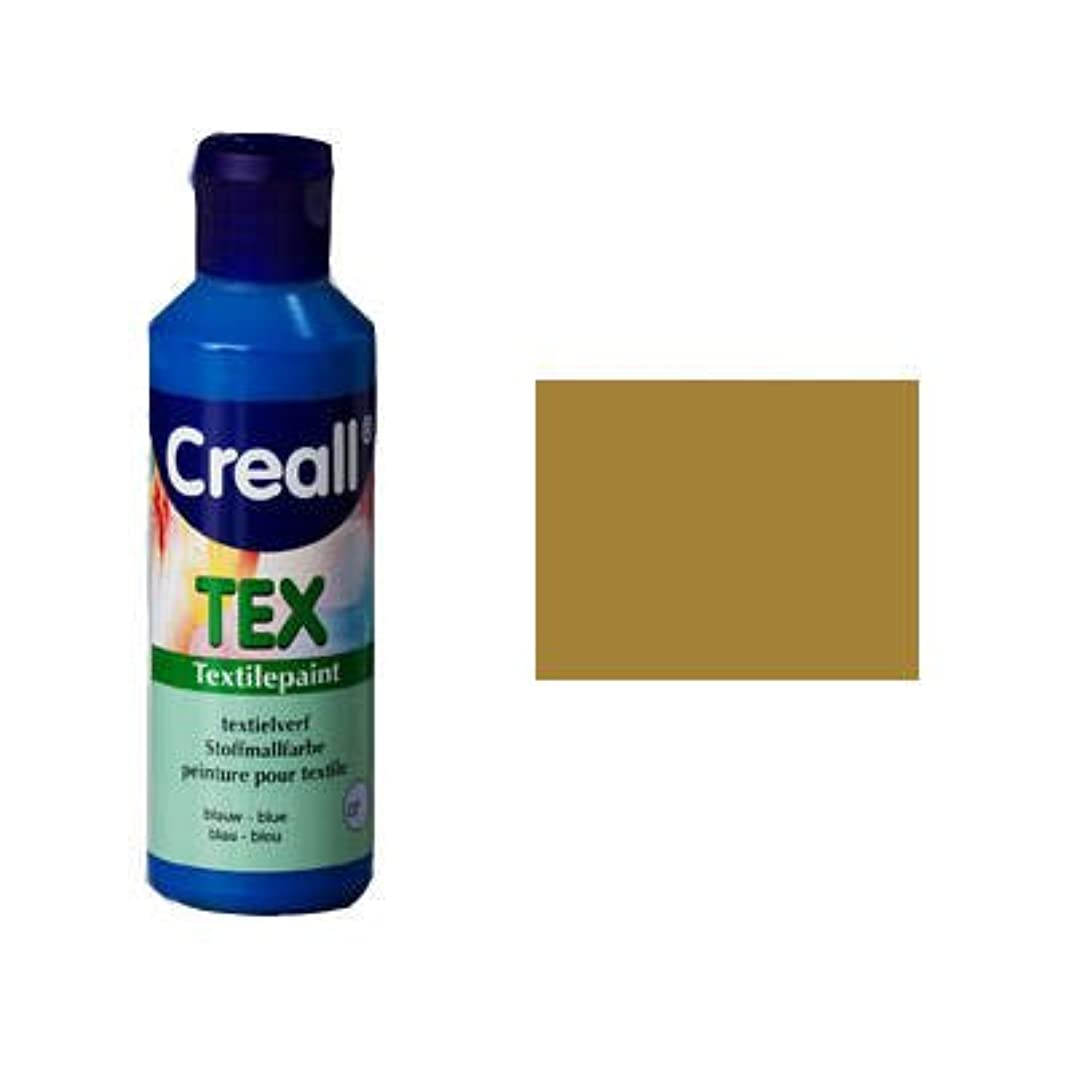 Creall Havo90733 80 ml 19 Gold Havo Textile Paint Bottle