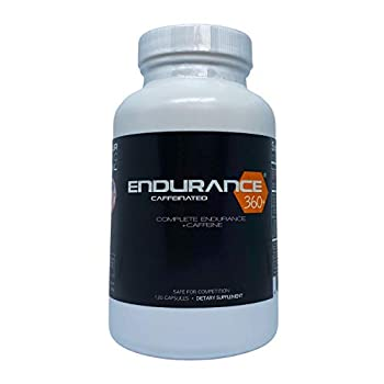 Endurance360 Caffeinated Sports Performance Supplement for Triathletes Runners Cyclists VO2 Max Smart Muscle Recovery Aid Muscle Soreness Muscular Endurance