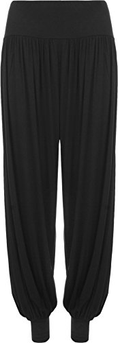 Ladies Plus Size Harem Trousers ...