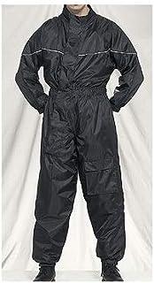 1ピースオートバイRain Suitブラック S ブラック RS2100-RAIN-SUIT-DL-SM