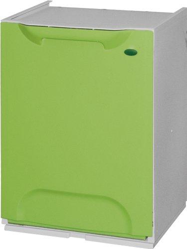 Cubo de Reciclaje Plástico Apilable 6 colores
