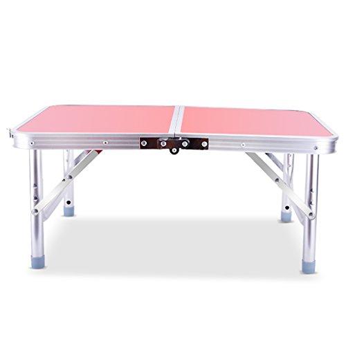 Table pliante multifonctionnelle Table pliante Petite table pour ordinateur portable Table en aluminium Accueil