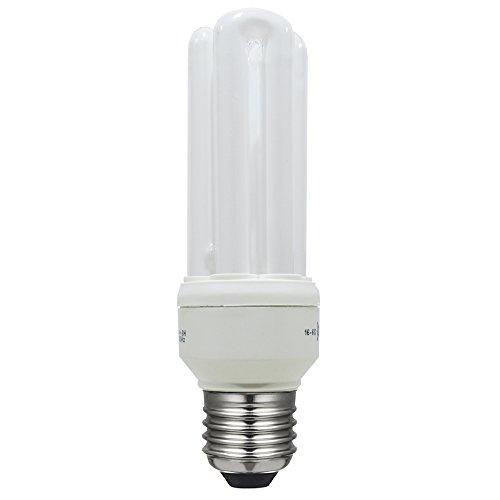 Laes 975239 Ampoule économie mini e27, 11 W, Blanc, 40 x 118 mm