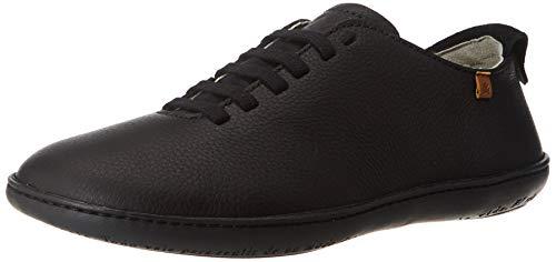 El Naturalista El Viajero, Zapatos de Cordones Derby Unisex Adulto, Negro (Black/Black Black/Black), 39 EU