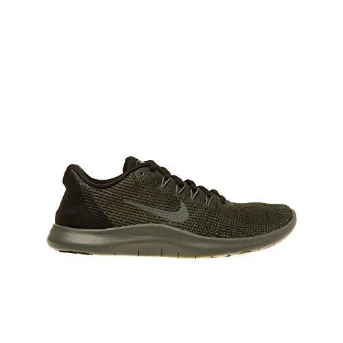 Nike Women's WMNS Flex 2018 Rn Fitness Shoes, (Black/Dark Grey/Anthracite 002) 9 UK