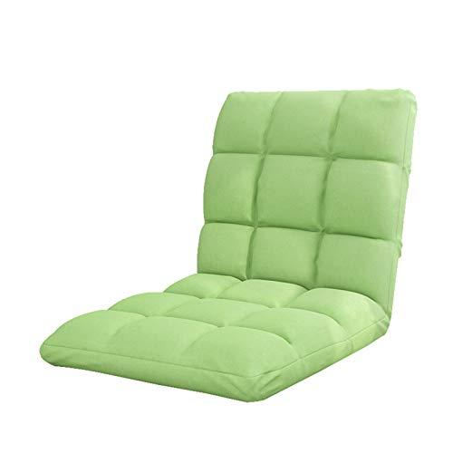 Sillón reclinable Perezoso de Piso, Silla de Juego Ajustable, Silla de sofá Plegable para Sala de Estar, Dormitorio y Oficina