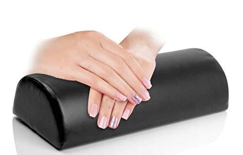 Black - Soft Hand Cushion Pillow Rest Nail Art Manicure Art Salon Beauty