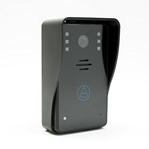 Videoportero con la tarjeta P2P inalámbrica IP PNI House 920 y visualización en un teléfono inteligente con Android o IOS
