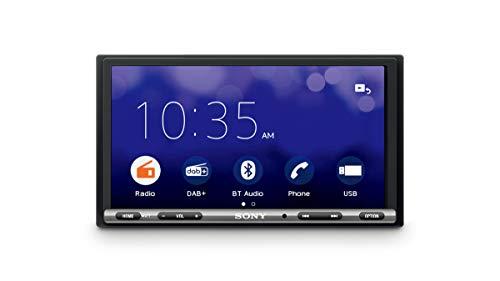 """Sony XAV-3550ANT - Reproductor para Coche (WebLink, Bluetooth y NFC, Pantalla táctil de 7"""" antirreflejo, Dab+, Compatible con Android/iOS y apps como Waze o Youtube, Potencia de 55 W x 4)"""