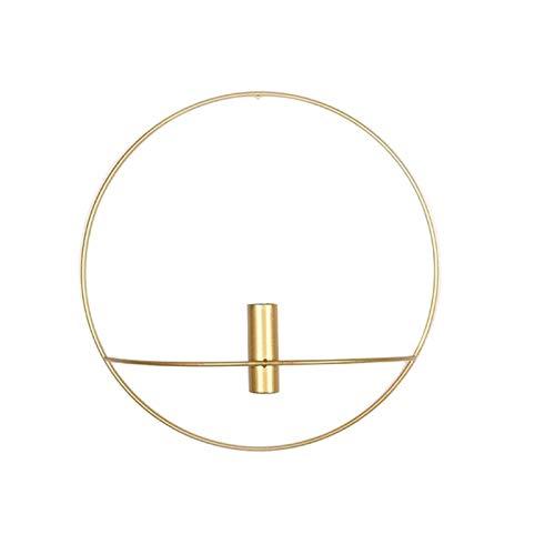 Benedict 3D Metall Kerzenhalter - Wandkerzenhalter - Nordic Geometric Tea Light Home Decor/3D Metal Candlestick - Wall Mounted Candle Holder - Nordic Geometric Tea Light Home Decor