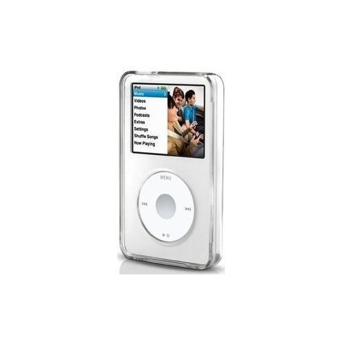 Accessory for iPod Video Classic 30 80 120 160 GB Clear Transparent Hard Case