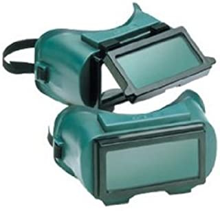 Gateway Safety 1710U50 Traditional Lift Front Welding Goggle, IR Filter Shade 5.0 Lens, Soft Vinyl Frame