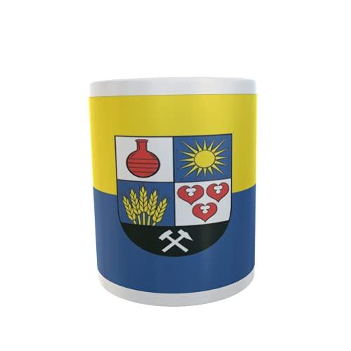 U24 Tasse Kaffeebecher Mug Cup Flagge Bitterfeld-Wolfen