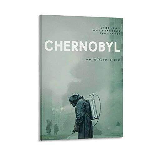 DRAGON VINES Póster de Chernobyl con diseño de Miniseries de la era histórica de la televisión de Chernobyl para decoración de pared, 60 x 90 cm