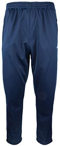 Herren Sporthose Jogginghose Trainingshose - Polytricot, Dunkelblau, Groesse: 4XL