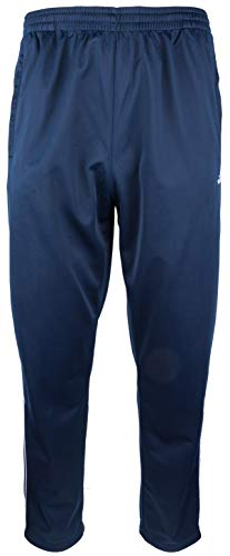Herren Sporthose Jogginghose Trainingshose - Polytricot, Dunkelblau, Groesse: XL