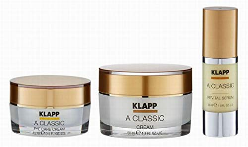 Klapp - A Classic Face Care Set (Cream, Eye Cream, Revital Serum)