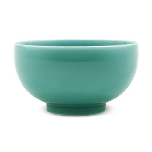 白山陶器(Hakusan Porcelain) 5寸深めん丼 青磁 Φ15.5 x 8.5cm 900ml 波佐見焼 日本製 hakusan porcelain
